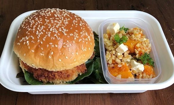 Chicken Burger in Party Box