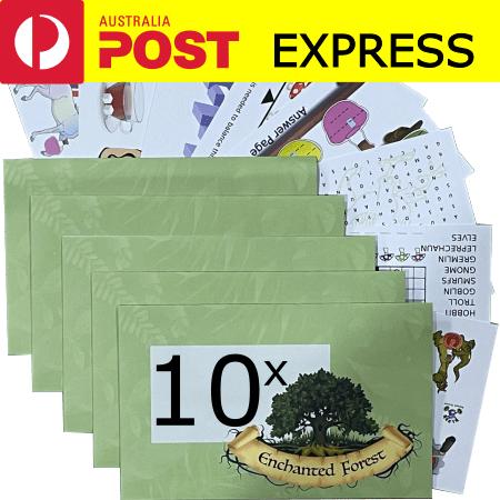 Enchanted Forest 10 pack Express