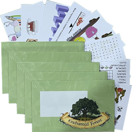 Enchanted Forest 5 Pack