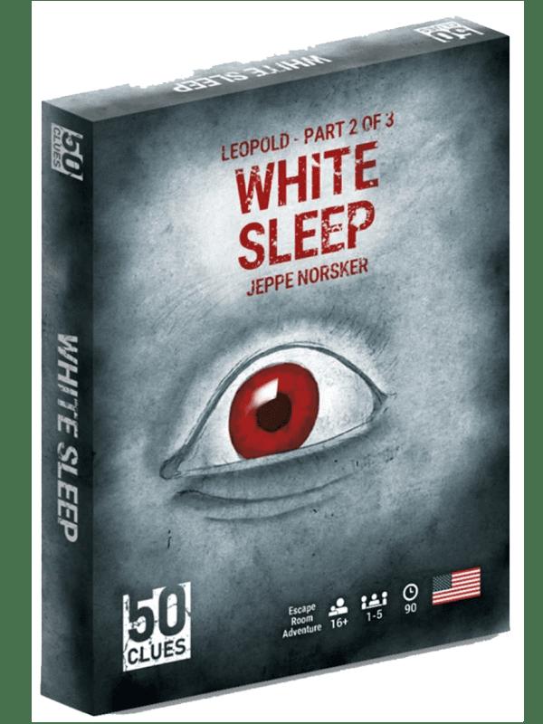 50 Clues - White sleep