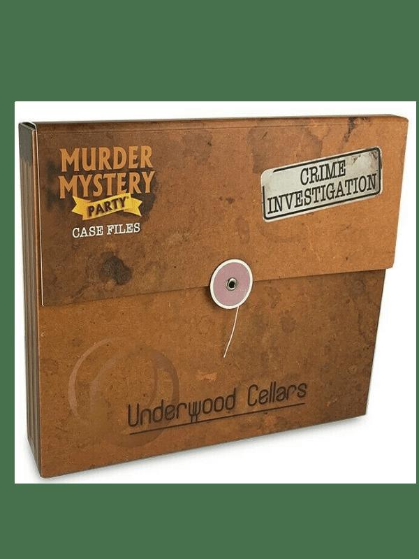 Murder Mystery Party - Underwood Cellars