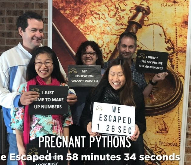 Family Photo at Elude Escape Rooms