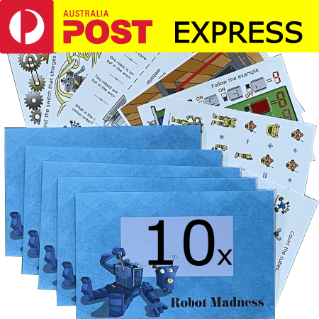 Robot Madness 10-Pack Express