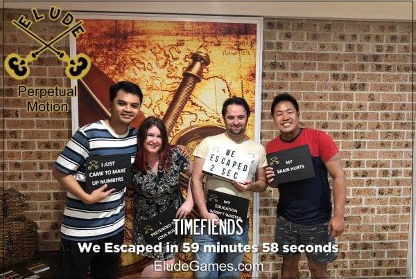 Timefiends Team Photo